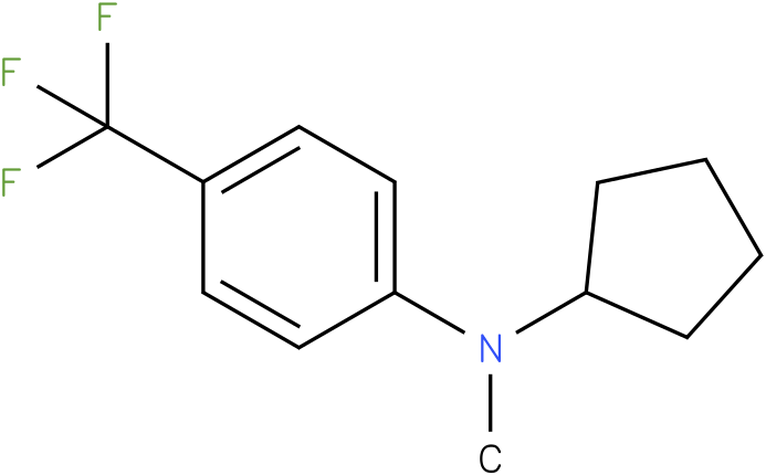 Cyclopentylmethyl-(4-trifluoromethyl-phenyl)-amine