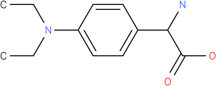 Amino-(4-diethylamino-phenyl)-acetic acid