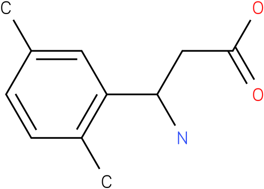 3-Amino-3-(2,5-dimethyl-phenyl)-propionic acid
