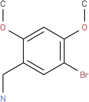 5-Bromo-2,4-dimethoxybenzylamine