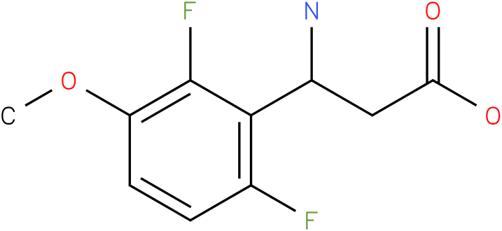 3-Amino-3-(2,6-difluoro-3-methoxy-phenyl)-propionic acid