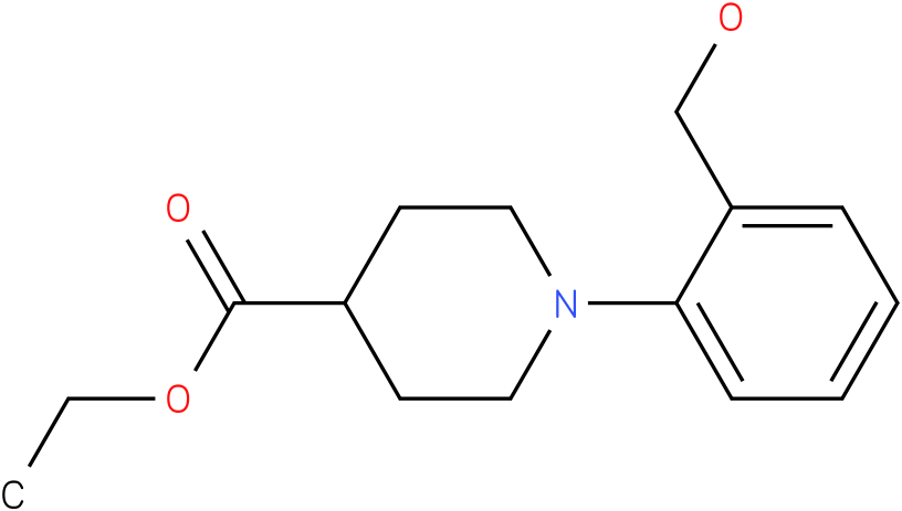 1-(2-hydroxymethylphenyl)piperidine-4-carboxylic acid ethyl ester