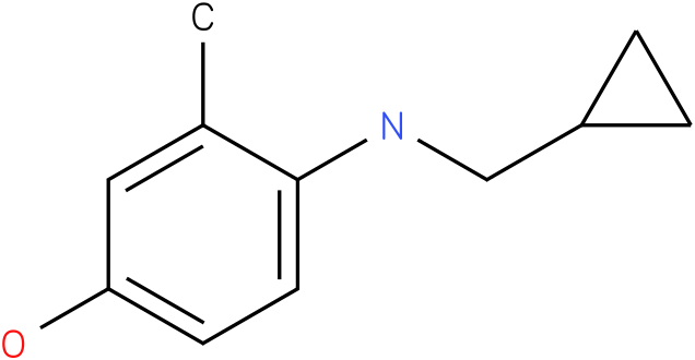 4-[(Cyclopropylmethyl)-amino]-3-methyl-phenol