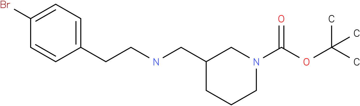 1-Boc-3-{[2-(4-Bromo-phenyl)-ethylamino]-methyl}-piperidine