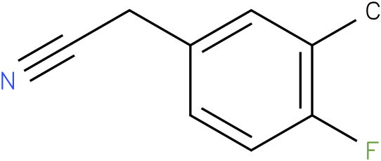 4-fluoro-3-methylphenylacetonitrile