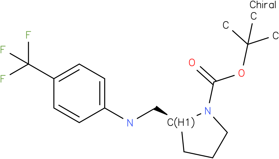(S)-1-Boc-2-{[(4-Trifluoromethyl-phenyl)-amino]-methyl}-pyrrolidine