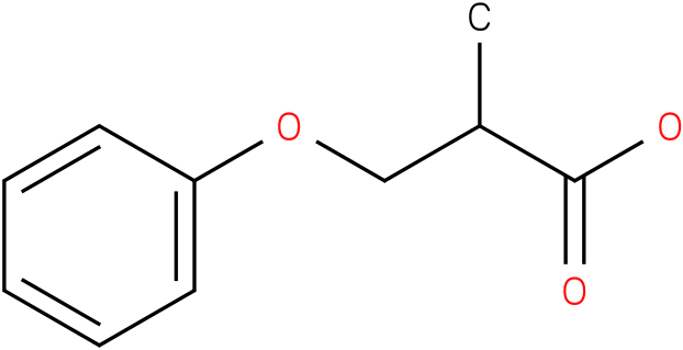 2-methyl-3-phenoxy-propionic acid