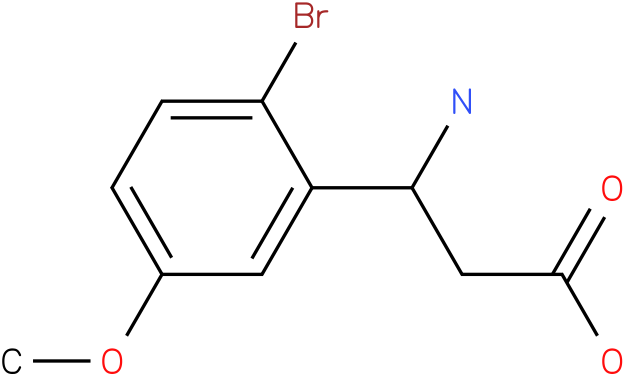 3-Amino-3-(2-bromo-5-methoxy-phenyl)-propionic acid