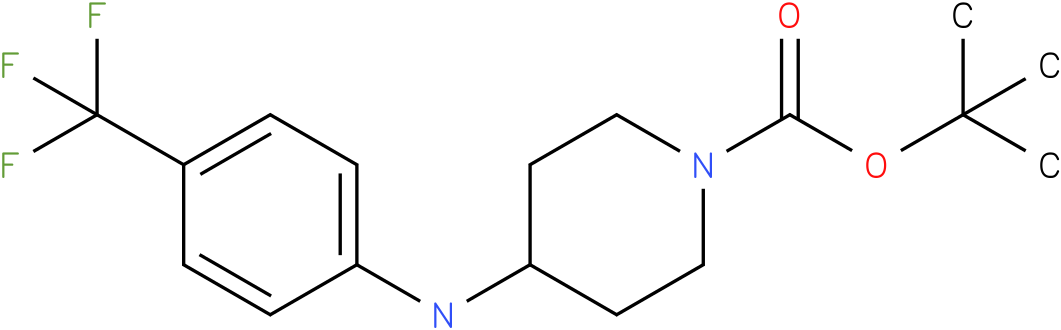 1-Boc-4-(4-Trifluoromethyl-phenylamino)-piperidine