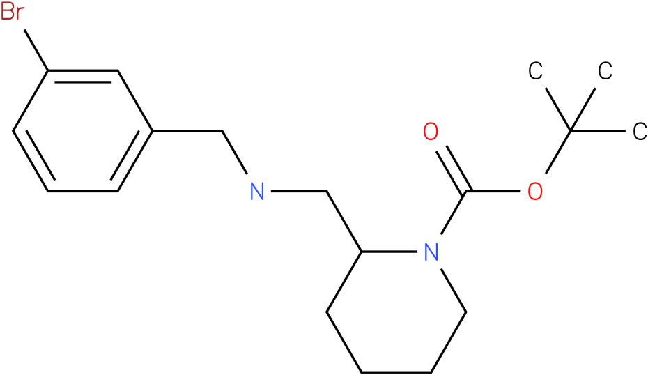 1-Boc-2-[(3-Bromo-benzylamino)-methyl]-piperidine