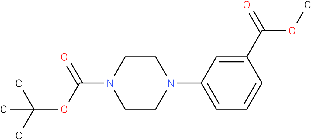 4-[3-(METHOXYCARBONYL)PHENYL]-1-PIPERAZINECARBOXYLIC ACID,1,1-DIMETHYLETHYL ESTER
