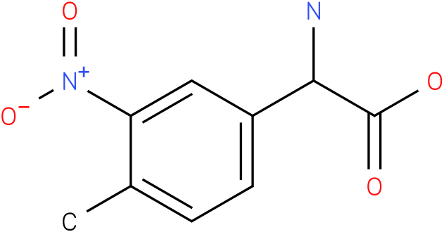 Amino-(4-methyl-3-nitro-phenyl)-acetic acid