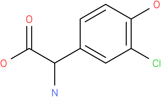 Amino-(3-chloro-4-hydroxy-phenyl)-acetic acid
