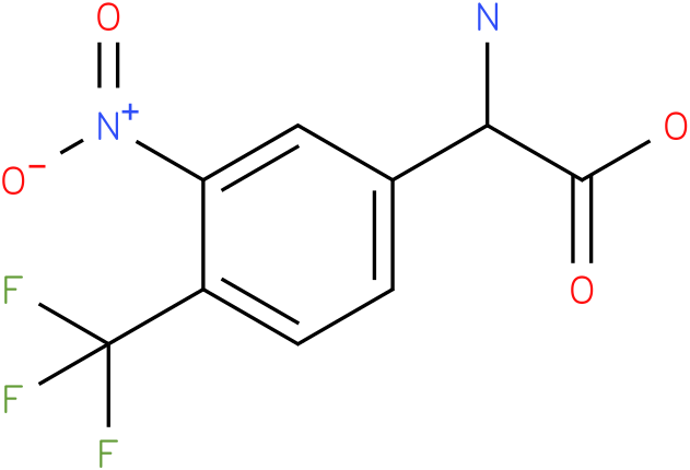 Amino-(3-nitro-4-trifluoromethyl-phenyl)-acetic acid