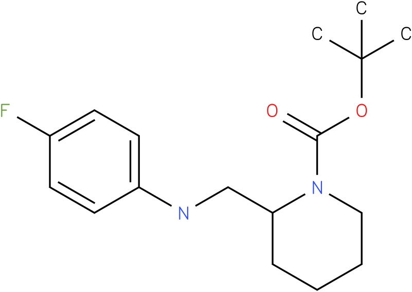 1-Boc-2-[(4-Fluoro-phenylamino)-methyl]-piperidine