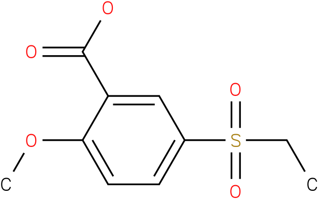5-Ethylsulfonyl-2-methoxy-benzoic acid