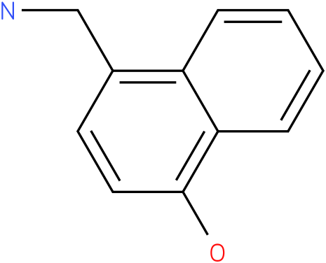 4-Hydroxynaphthalen-1-ylmethylamine