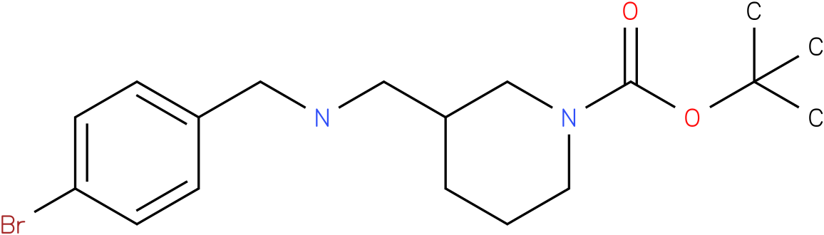 1-Boc-3-[(4-Bromo-benzylamino)-methyl]-piperidine