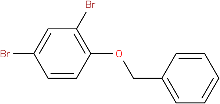 benzyl (2,4-dibromo-phenyl)ether