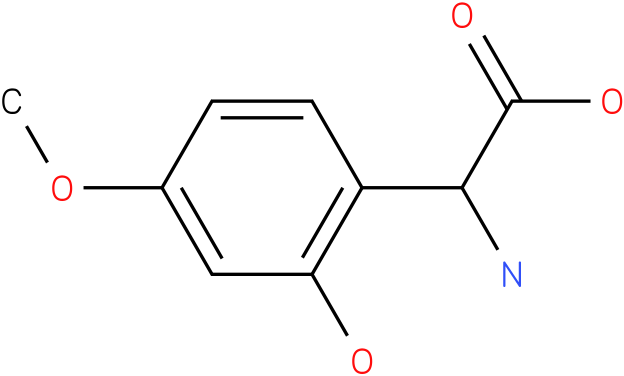Amino-(2-hydroxy-4-methoxy-phenyl)-acetic acid