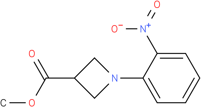 1-(2-Nitro-phenyl)-azetidine-3-carboxylic acid methyl ester