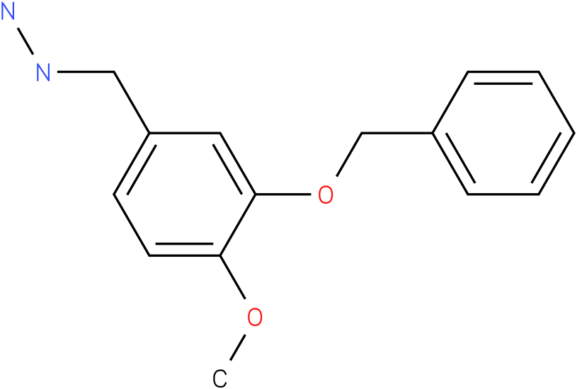 (3-Benzyloxy-4-methoxy-benzyl)-hydrazine