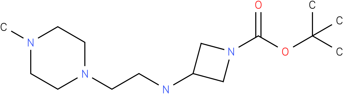 1-Boc-3-[(4-Methyl-piperazin-1-ylethyl)-amino]-azetidine