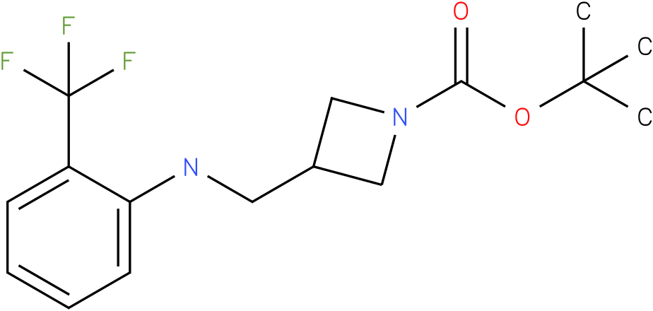 1-Boc-3-{[(2-Trifluoromethyl-phenyl)-amino]-methyl}-azetidine
