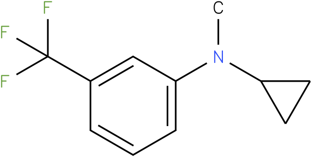 Cyclopropylmethyl-(3-trifluoromethyl-phenyl)-amine