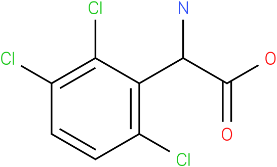 Amino-(2,3,6-trichloro-phenyl)-acetic acid
