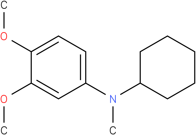 Cyclohexylmethyl-(3,4-dimethoxy-phenyl)-amine
