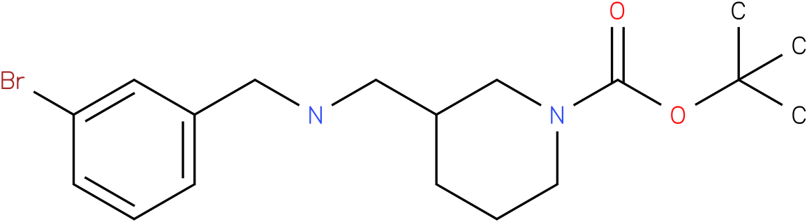 1-Boc-3-[(3-Bromo-benzylamino)-methyl]-piperidine