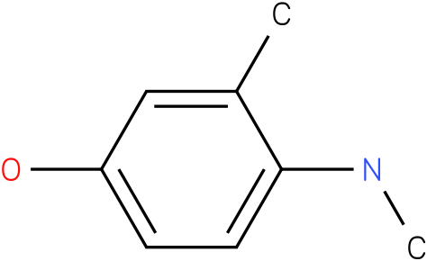 3-Methyl-4-methylamino-phenol