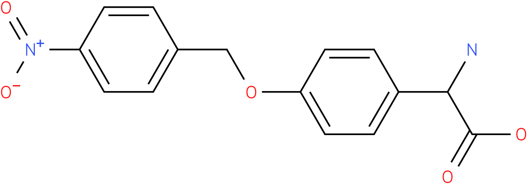 Amino-[4-(4-nitro-benzyloxy)-phenyl]-acetic acid