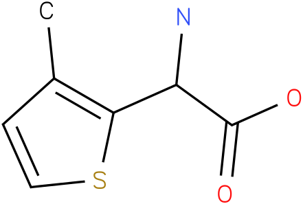 Amino-(3-methyl-thiophen-2-yl)-acetic acid