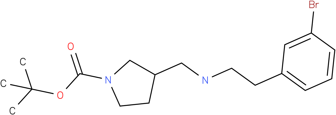 1-Boc-3-{[2-(3-Bromo-phenyl)-ethylamino]-methyl}-pyrrolidine