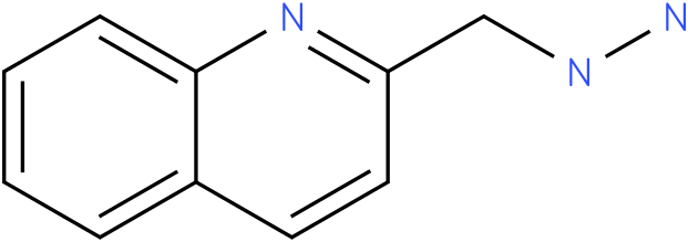 1-((quinolin-2-yl)methyl)hydrazine
