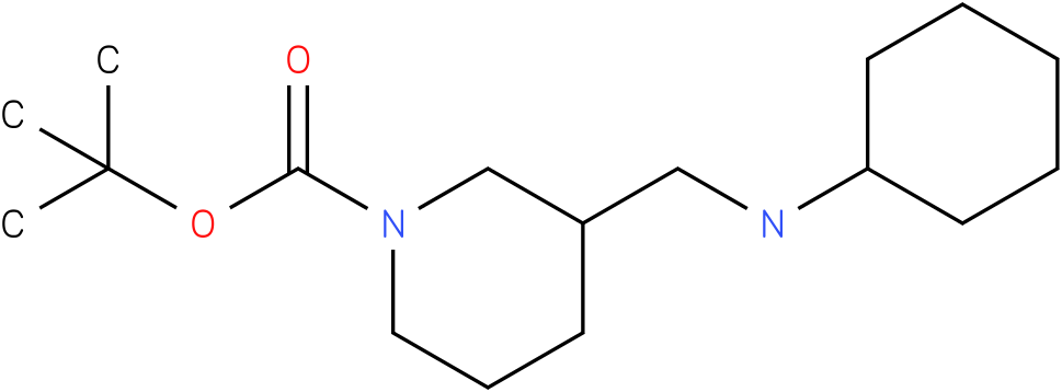 1-Boc-3-Cyclohexylaminomethyl-piperidine