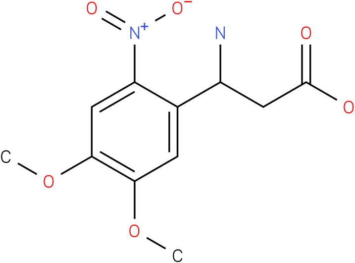 3-Amino-3-(4,5-dimethoxy-2-nitro-phenyl)-propionic acid