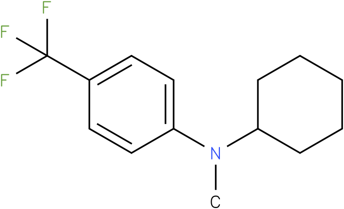 Cyclohexylmethyl-(4-trifluoromethyl-phenyl)-amine