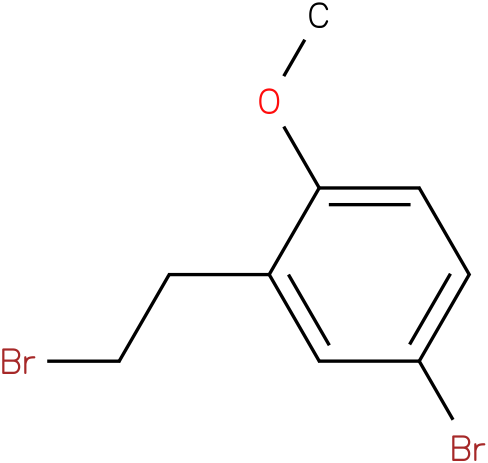 4-bromo-2-(2-bromoethyl)-1-methoxybenzene