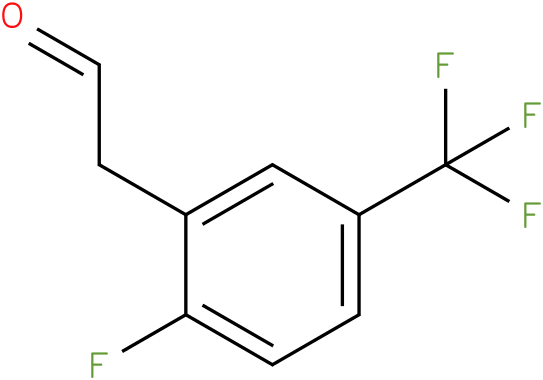 2-(2-fluoro-5-(trifluoromethyl)phenyl)acetaldehyde