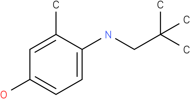 4-(2,2-Dimethyl-propylamino)-3-methyl-phenol