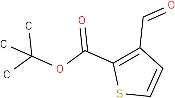 3-formyl-thiophene-2-carboxylic acid tert-butyl ester