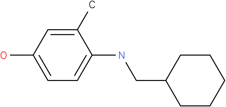 4-[(Cyclohexylmethyl)-amino]-3-methyl-phenol