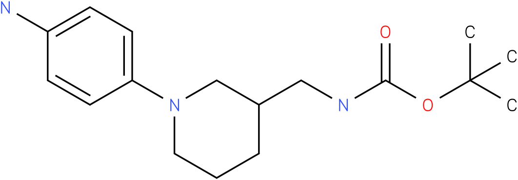[1-(4-amino-phenyl)-piperidin-3-ylmethyl]-carbamic acid tert-butyl ester