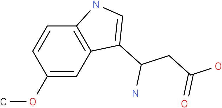 3-Amino-3-(5-methoxy-indol-3-yl)-propionic acid