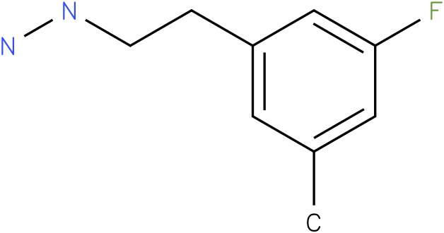1-(3-fluoro-5-methylphenethyl)hydrazine