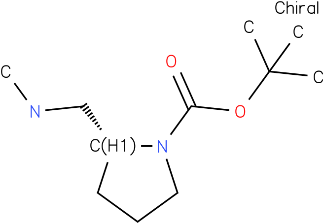 (R)-1-Boc-2-(Methylaminomethyl)-pyrrolidine