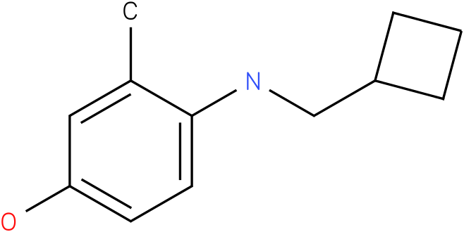 4-[(Cyclobutylmethyl)-amino]-3-methyl-phenol